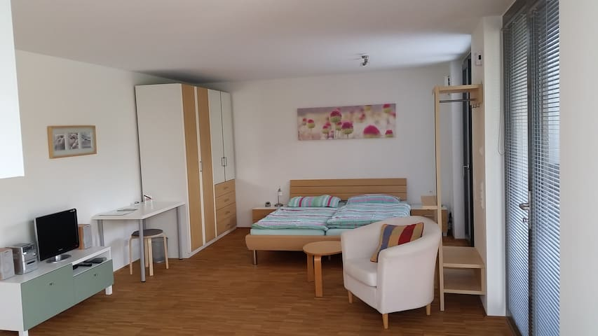 Modernes Appartement in Uninähe