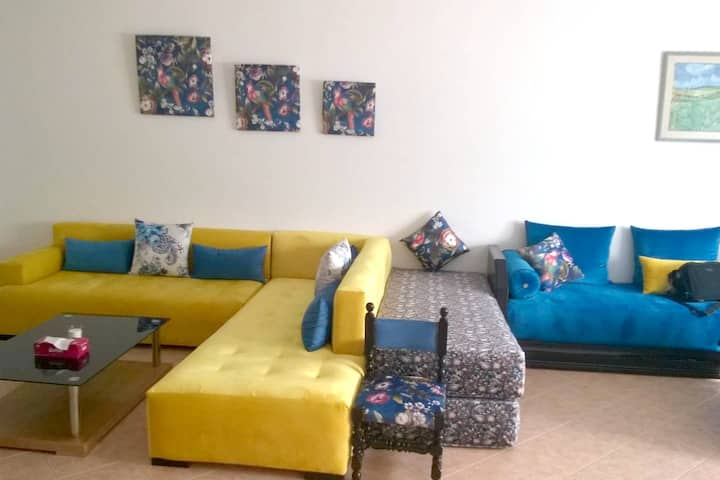 House with 3 bedrooms in Skhirat, with shared pool, enclosed garden and WiFi