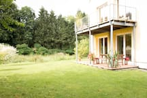 Kornelius I - eine schöne Wohnung mit Garten