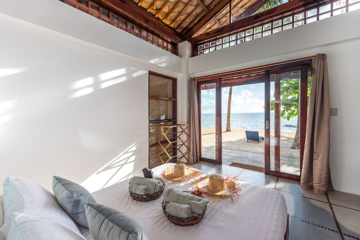 Salina Beach Villas- Villa  2 -Beachfront view