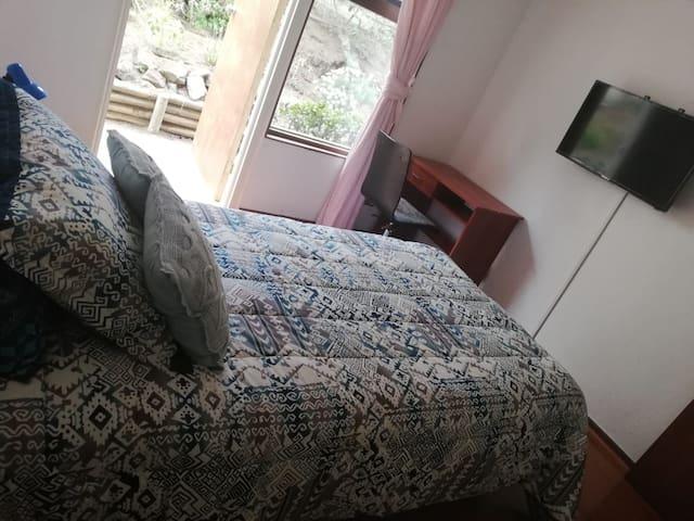 Habitación baño privado zona residencial de Concón