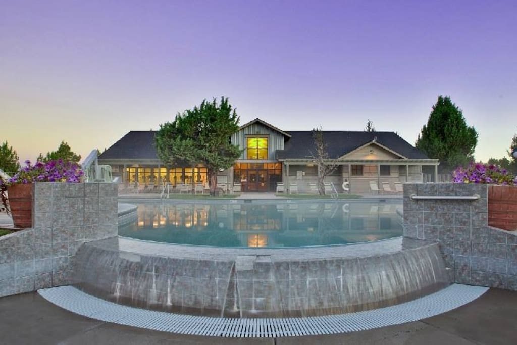 Pool and Gym next to house