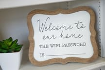 The current wifi password will be available in the House Manual after booking and can also be found in our Guest Guide!