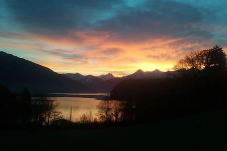 See und Berge vor der Haustür! - Spiez - Lägenhet