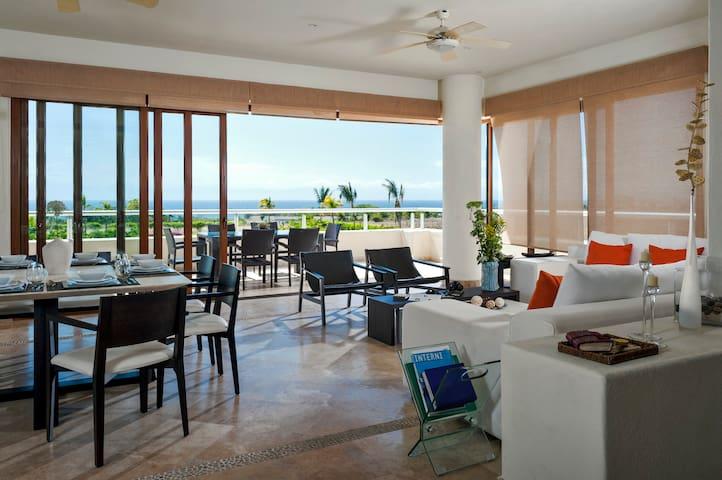 Hermoso Condo de 3Rec con Vista al Mar - San Juan de Abajo - Aparthotel