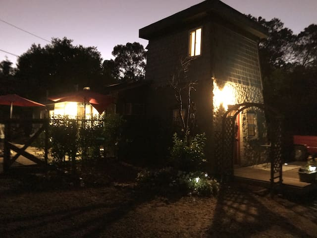 Nights offer lovely star-gazing and moon bathing. With two fire pits and available firewood take the Bay Area chill and warm your heart and bones.