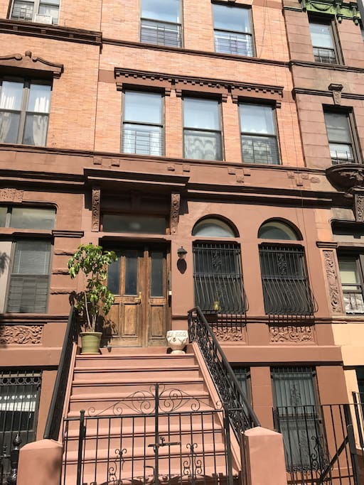 Front of 100+ year-old brownstone