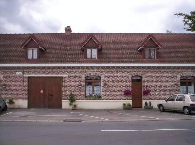 Trois chambres dans une ancienne ferme rénovée