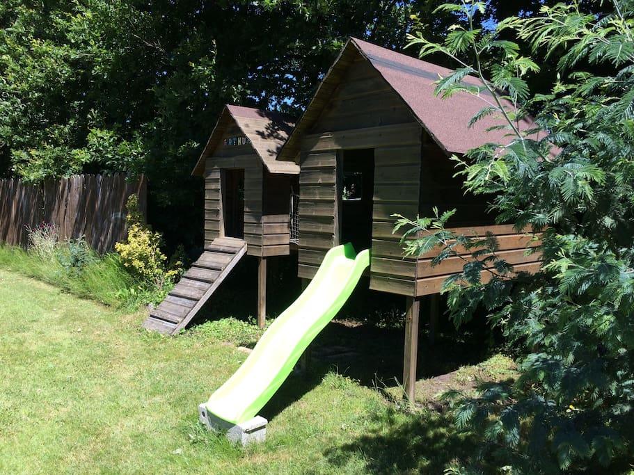Les cabanes pour les enfants