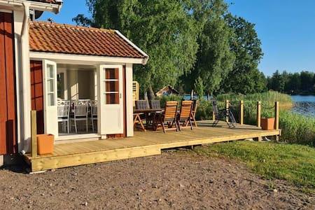 Villa Sjötullen, strandtomt med underbart läge