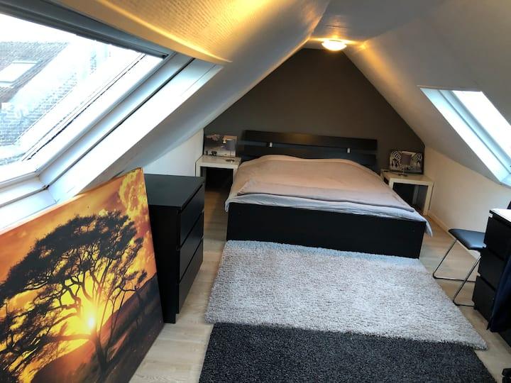 Cozy Duplex Appartment in Châtelain, close to Midi