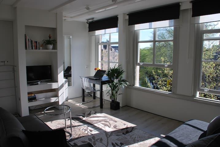 Exceptional canal view - Amsterdam - Appartement