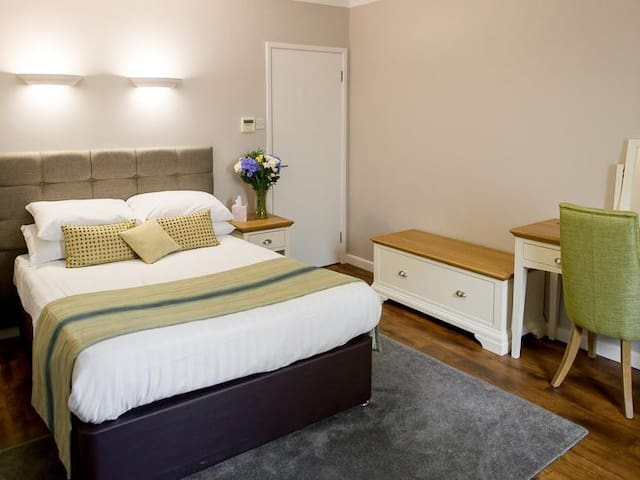 Double room at The White Horse Inn