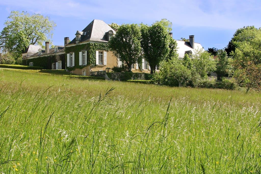La Chartreuse du Maine où est située la maison de vacances Chez Colette et Mimi