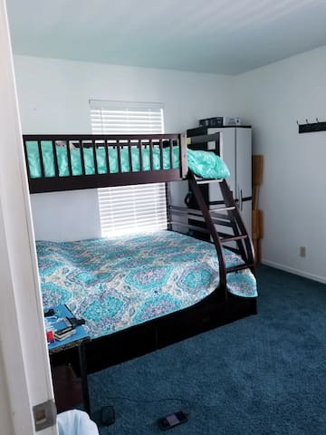 Bedroom 1 - Full bed and twin bed