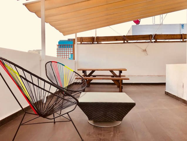 Penthouse C/Roof Garden Juarez, Condesa,US embassy