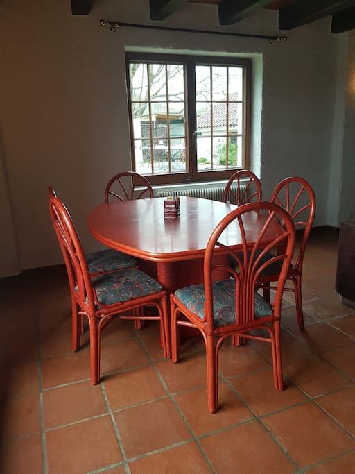 Table pour 6 personne