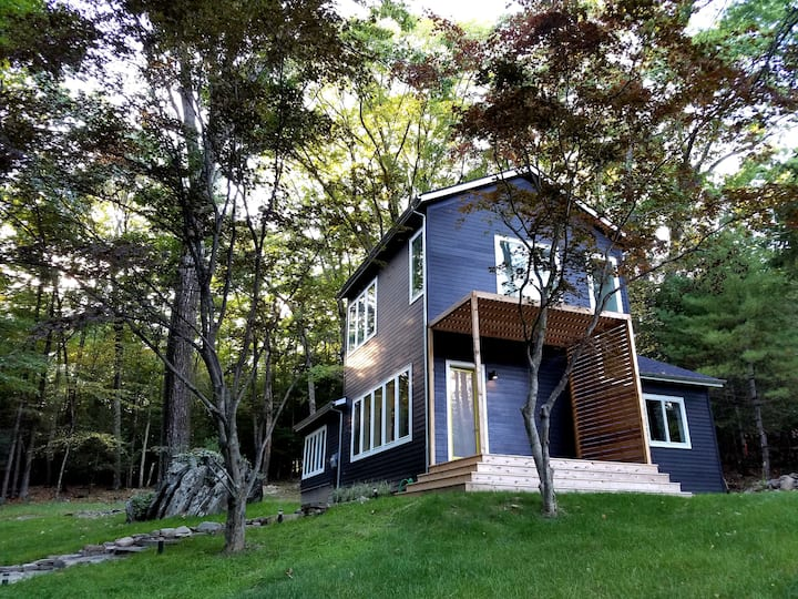 Olivebridge Cottage: modern, bright, clean, cozy