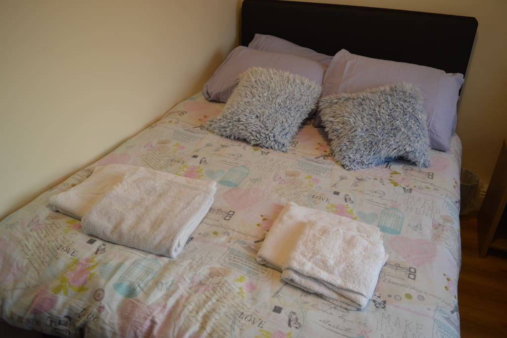 Brand new bed frame and mattress. very comfortable bed