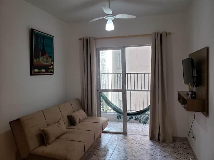 Apartment near Pitangueiras and Astúrias Beaches