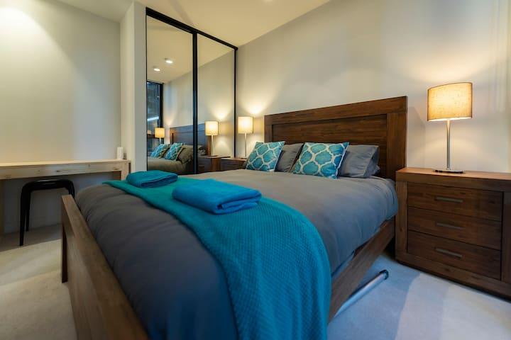 Bedroom area - Queen bed
