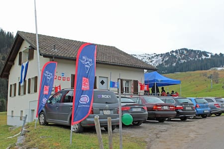 Basic Group Accommodation -  Hoch-Ybrig Area - Oberiberg