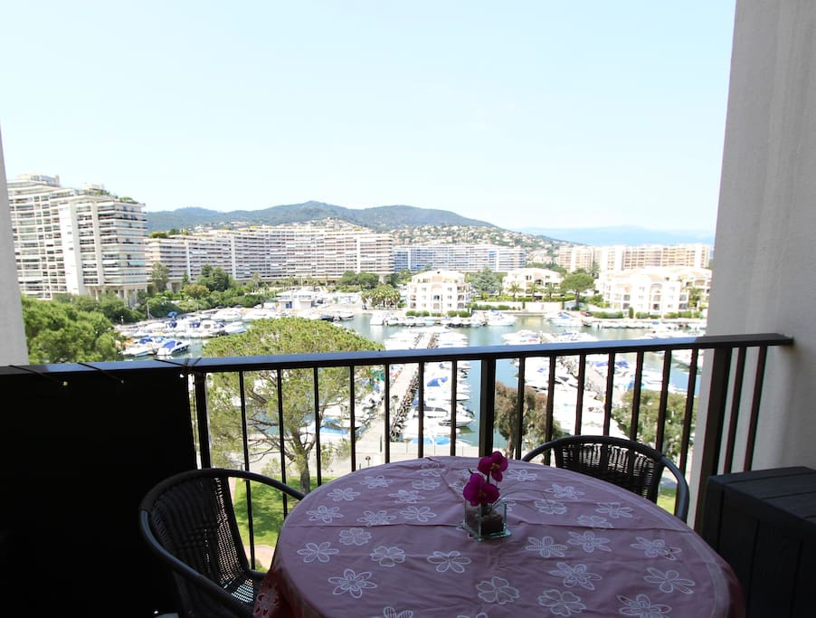Marina Views from the balcony