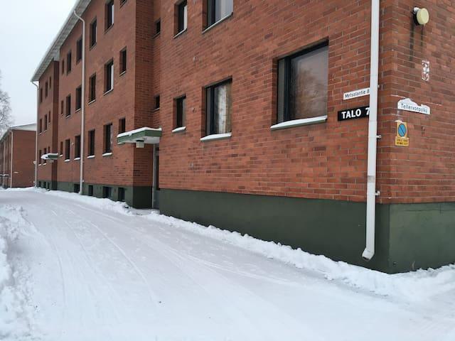 One bedroom apartment in Tornio, Metsolantie 8 (ID 10176)