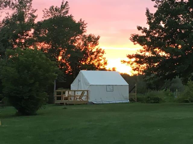 Solar powered Pioneer Tent
