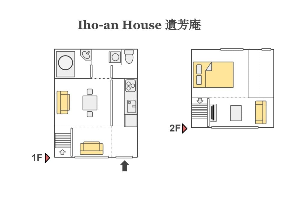 Floor plan of the house