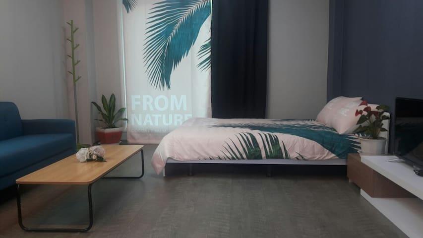 푸른숲펜션 올리브룸(Olive room)