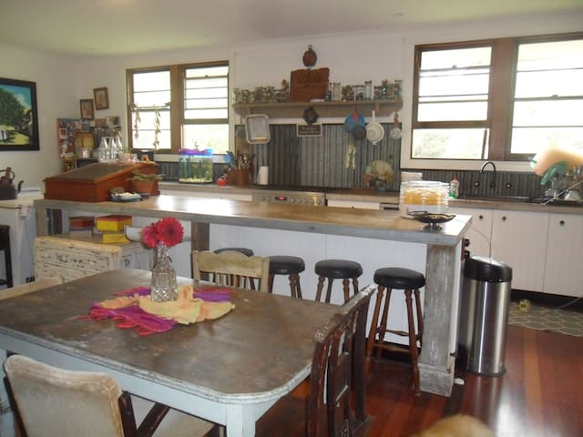 A big country kitchen!