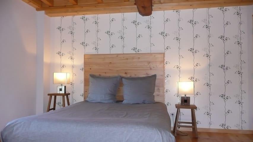 Chambre dans les Hautes-Alpes