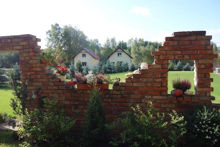 Domek Różany  w Bednarzówce