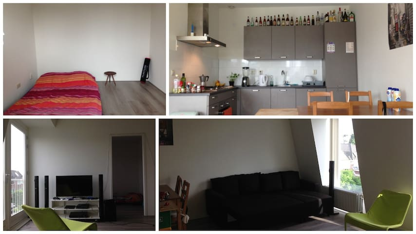 Room in nice apartment close to centre - Rotterdam - Leilighet
