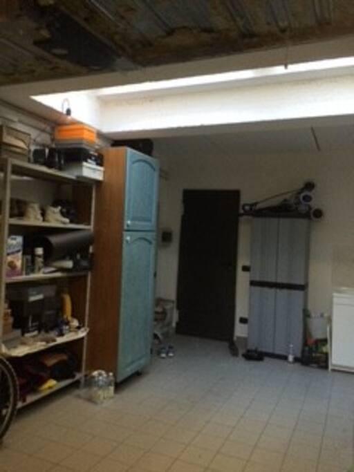 Accesso direttamente dal garage