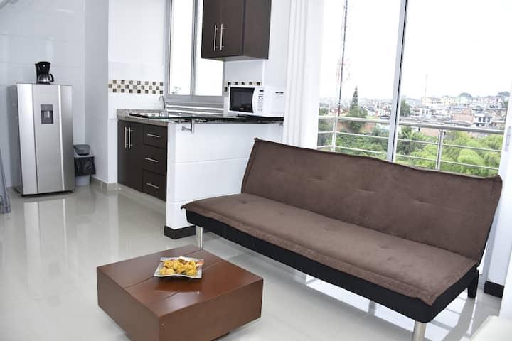 Apartamento bonito, tranquilo y acogedor. Armenia