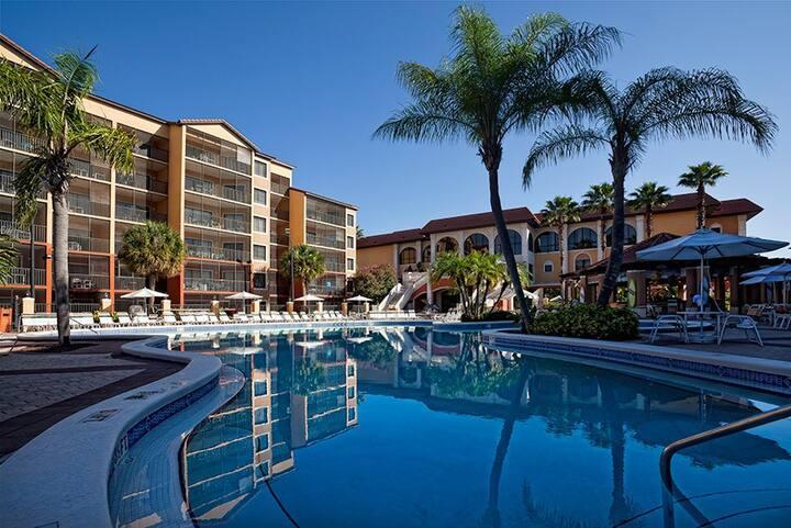 Spacious 2BD vacation home @westgate resorts!