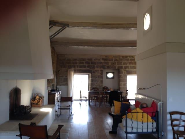 Schloss-Etage mit Traum-Aussicht - Aubais - Appartement