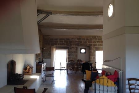 Schloss-Etage mit Traum-Aussicht - Aubais