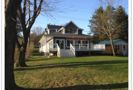 Rushford Lake NY Retreat - Rushford - Hus