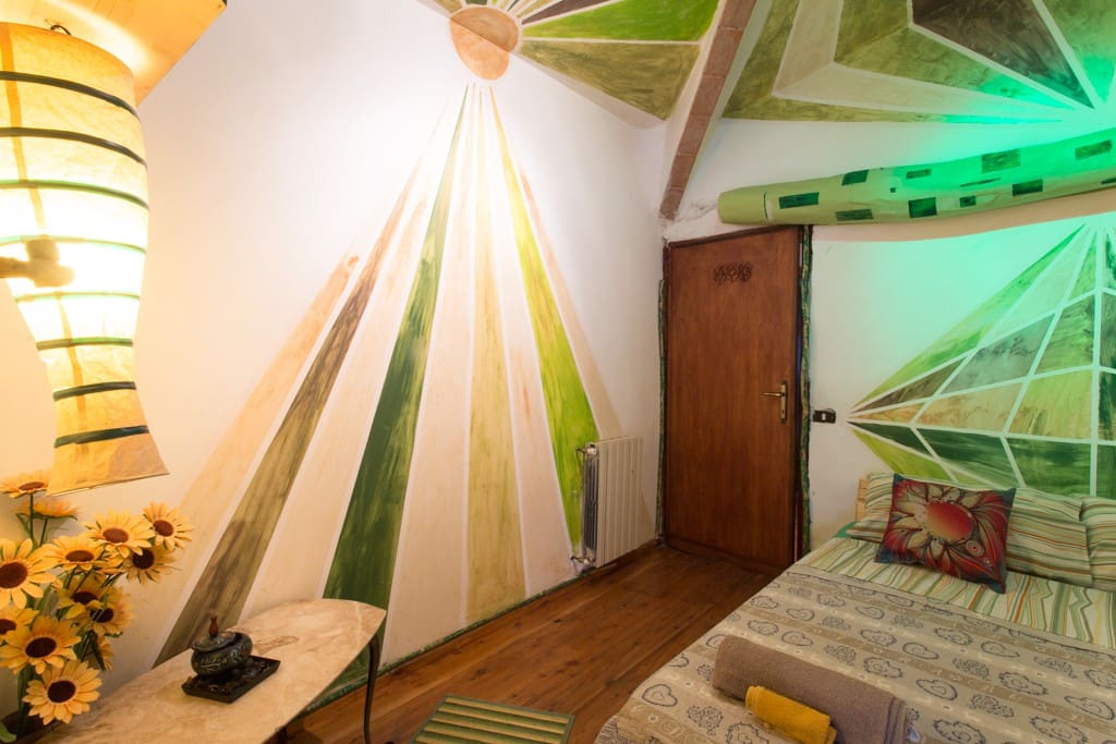 Camera Bambu x 3 persone / Bamboo room for 3 people