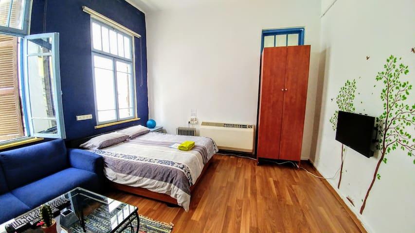 ❤TLVilla XLarge Relaxed & Cozy Room @Rothschild - Tel Aviv - Villa