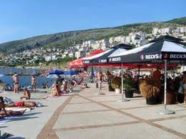 Ferienwohnung Kovac mit sonnige Terasse am Meer-m