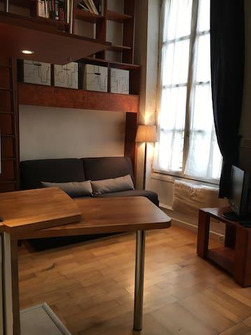 Studio in the Marais