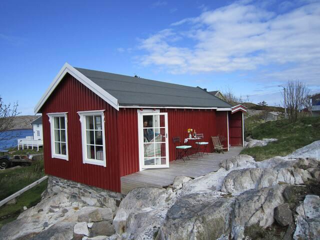 Helgeland - øde øy i storhavet