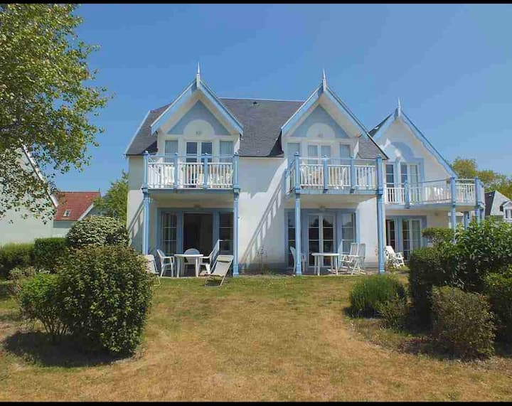 appart 4/5 pers fort mahon belle dunes