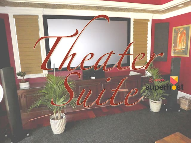 Luxurious Theater Suite w self check-in/check-out