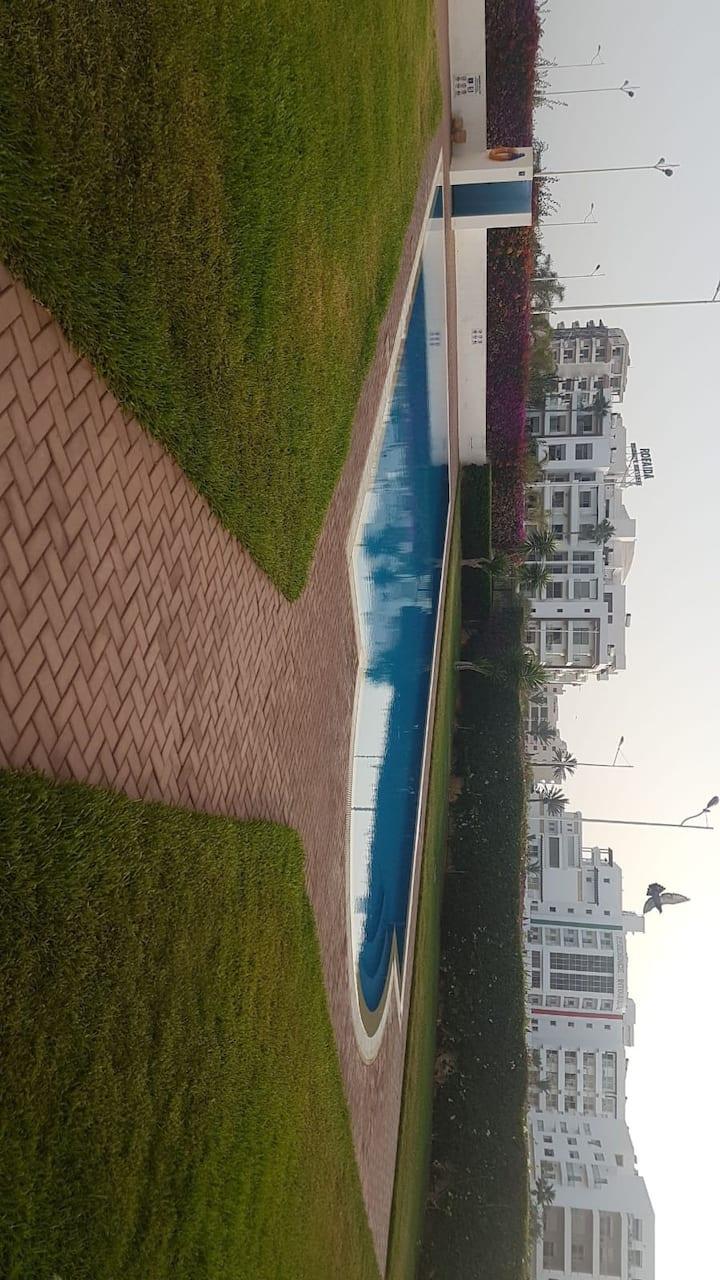 Charmant appartement- Sonaba à côté de la Corniche