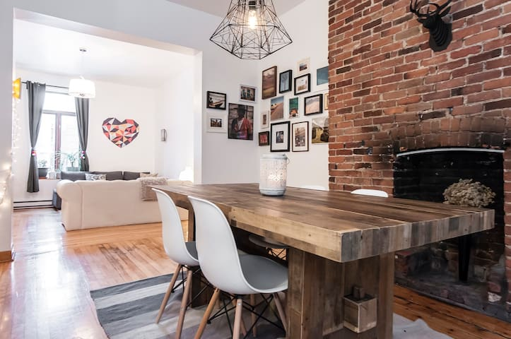 Lovely Duplex 2 BR Old Port - Montreal - Apartamento